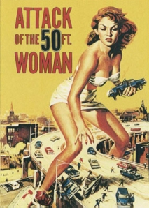 poster de Attack of the 50 ft en cinemaspop.com